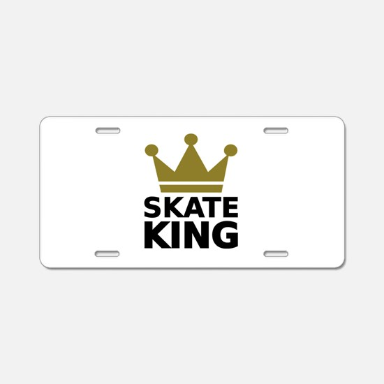Skate king Aluminum License Plate