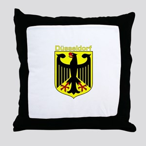 Dusseldorf, Germany Throw Pillow