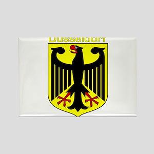 Dusseldorf, Germany Rectangle Magnet