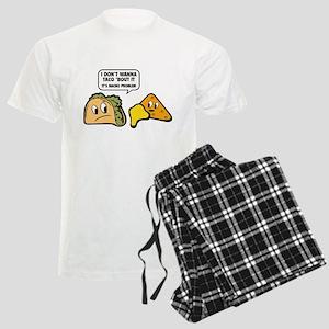 I Don't Wanna Taco 'Bout It Men's Light Pajamas