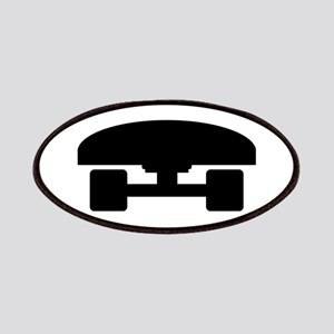 Skateboard logo icon Patches