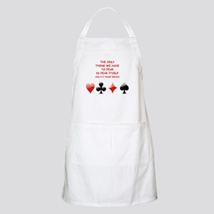 bridge joke Apron