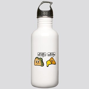 Let's Just Taco 'Bout It Stainless Water Bottle 1.