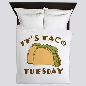 It's Taco Tuesday Queen Duvet
