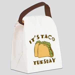It's Taco Tuesday Canvas Lunch Bag