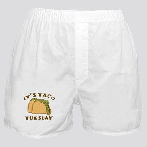 It's Taco Tuesday Boxer Shorts
