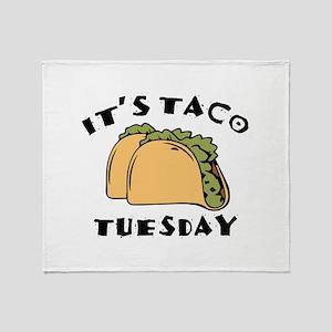It's Taco Tuesday Stadium Blanket
