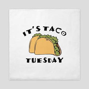 It's Taco Tuesday Queen Duvet