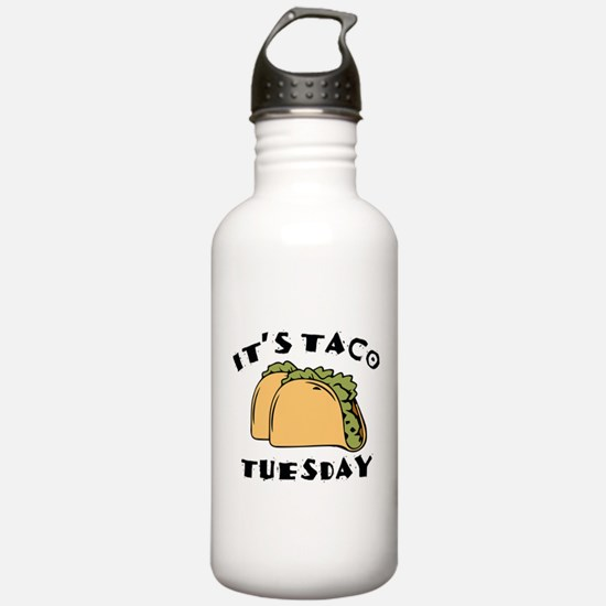 It's Taco Tuesday Water Bottle
