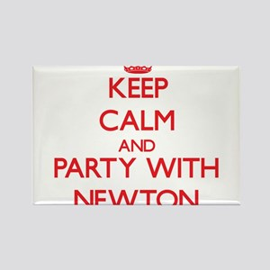 Keep calm and Party with Newton Magnets
