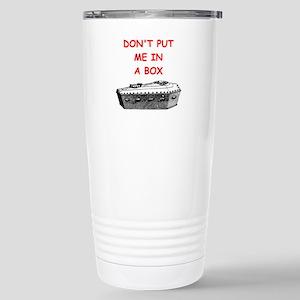 undertaker joke Travel Mug