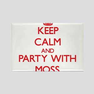 Keep calm and Party with Moss Magnets