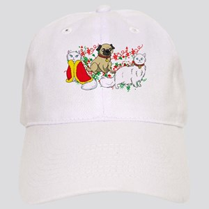 CCat Pug Crys Tshirt pic Hat