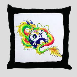 Narcotics Anonymous Dragon Throw Pillow