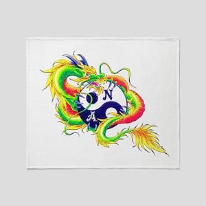 Narcotics Anonymous Dragon Throw Blanket