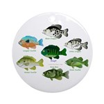7 Sunfish Ornament (Round)