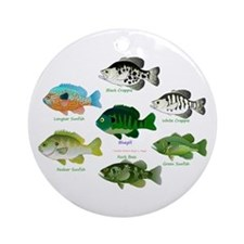 7 Sunfish Ornament (Round)
