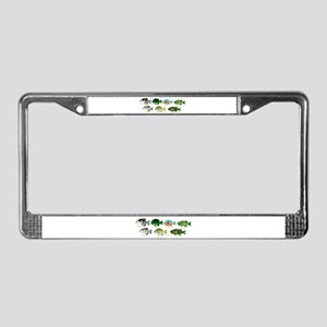 7 Sunfish License Plate Frame