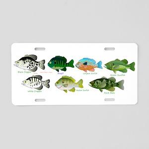 7 Sunfish Aluminum License Plate