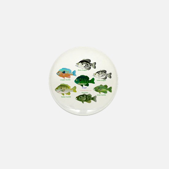 7 Sunfish Mini Button
