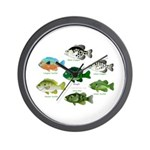 7 Sunfish Wall Clock