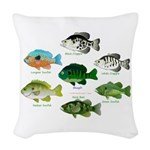 7 Sunfish Woven Throw Pillow
