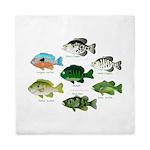 7 Sunfish Queen Duvet