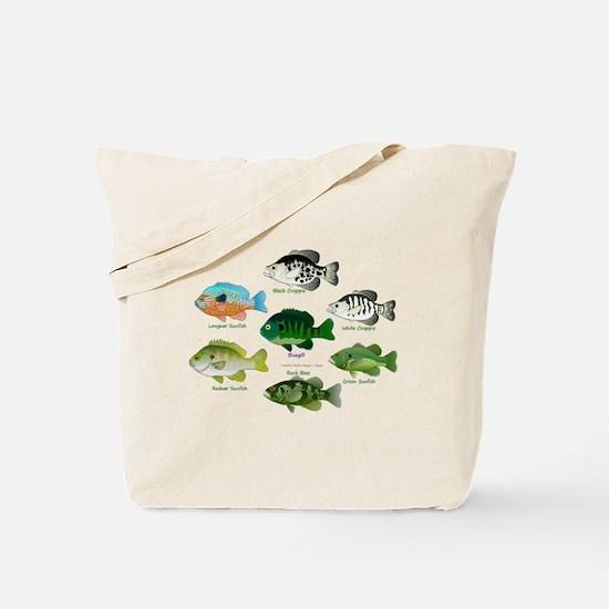7 Sunfish c Tote Bag