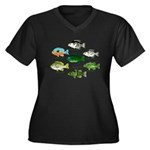 7 Sunfish c Plus Size T-Shirt