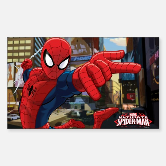 Ultimate Spider-Man Sticker (Rectangle)