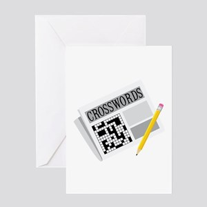 Crosswords Greeting Cards