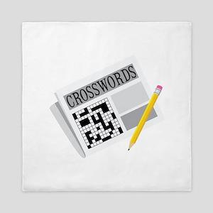 Crosswords Queen Duvet