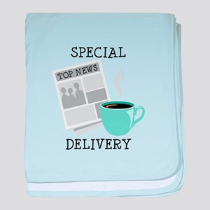 Special Delivery baby blanket