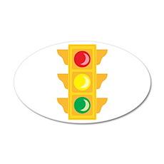 Traffic Signal Light Wall Decal