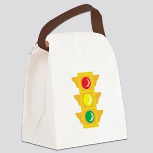 Traffic Signal Light Canvas Lunch Bag