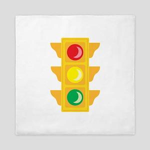 Traffic Signal Light Queen Duvet