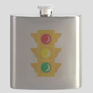 Traffic Signal Light Flask