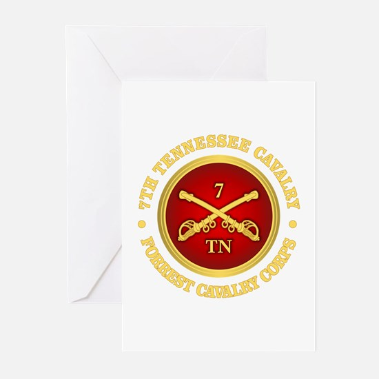 7th Tennessee Cavalry Greeting Cards