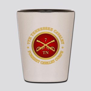 7th Tennessee Cavalry Shot Glass