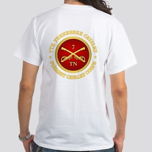 7th Tennessee Cavalry White T-Shirt