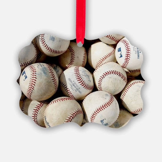 Baseballs Ornament