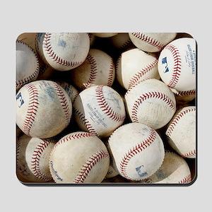 Baseballs Mousepad
