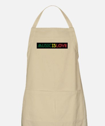 MUSIC IS LOVE 2 Apron
