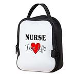 Nurse For Life Neoprene Lunch Bag