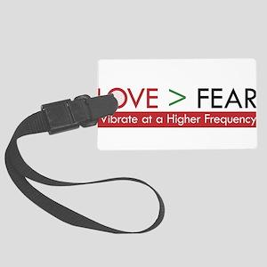 LOVE FEAR 2 Luggage Tag