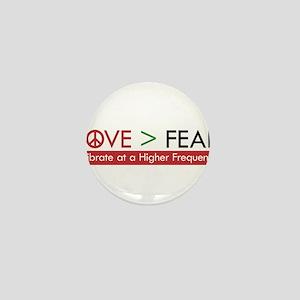 LOVE FEAR Mini Button