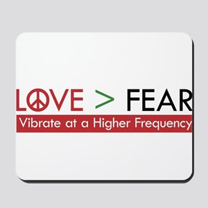 LOVE FEAR Mousepad