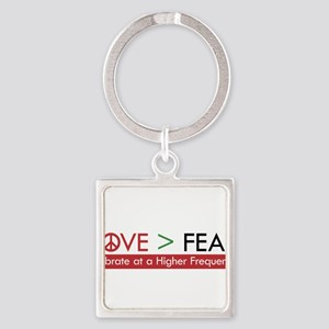 LOVE FEAR Keychains