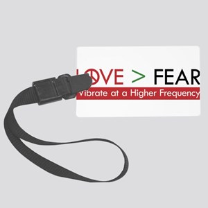 LOVE FEAR Luggage Tag