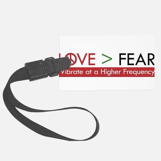 LOVE FEAR Luggage Tag